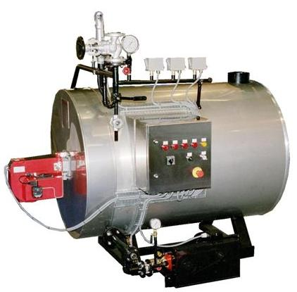 Steam Generator Boilers - compact water tube steam boilers with ...